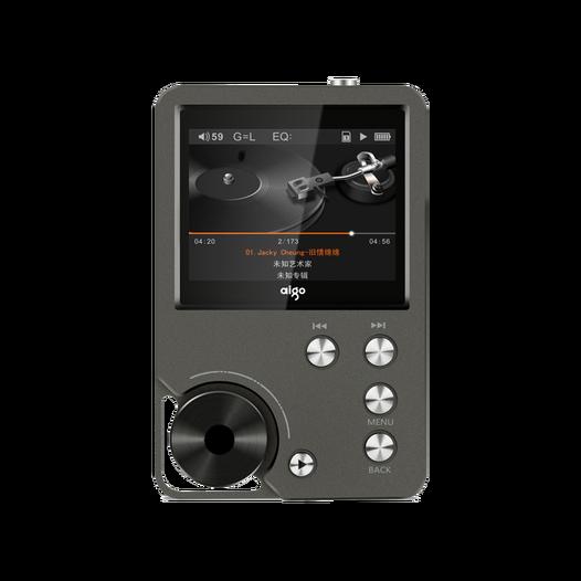 爱国者(aigo)MP3播放器105 HIFI音乐播放器无损发烧级便携8G可扩容