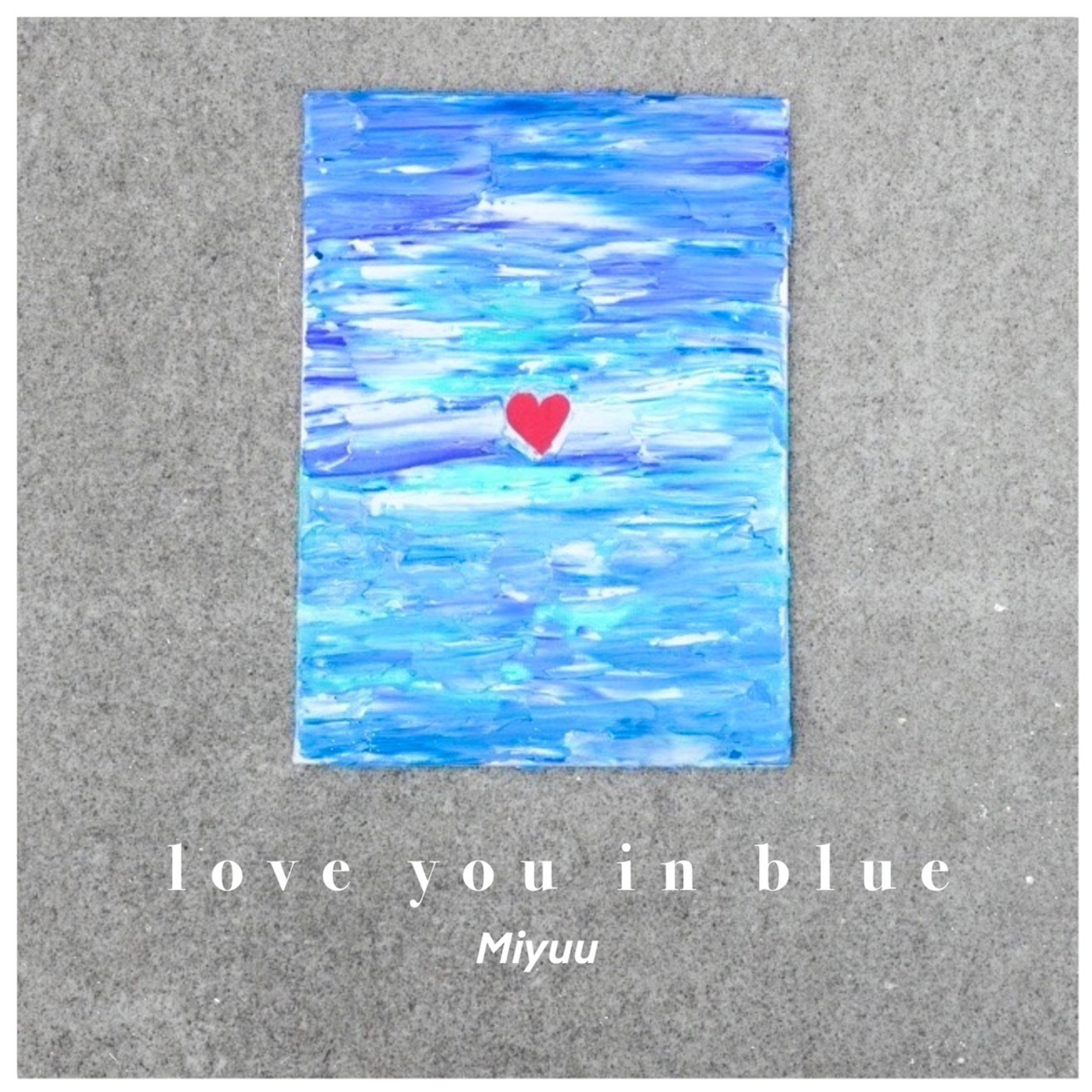 love you in blue