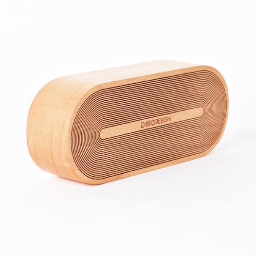 本来设计 原木质音乐盒八音盒