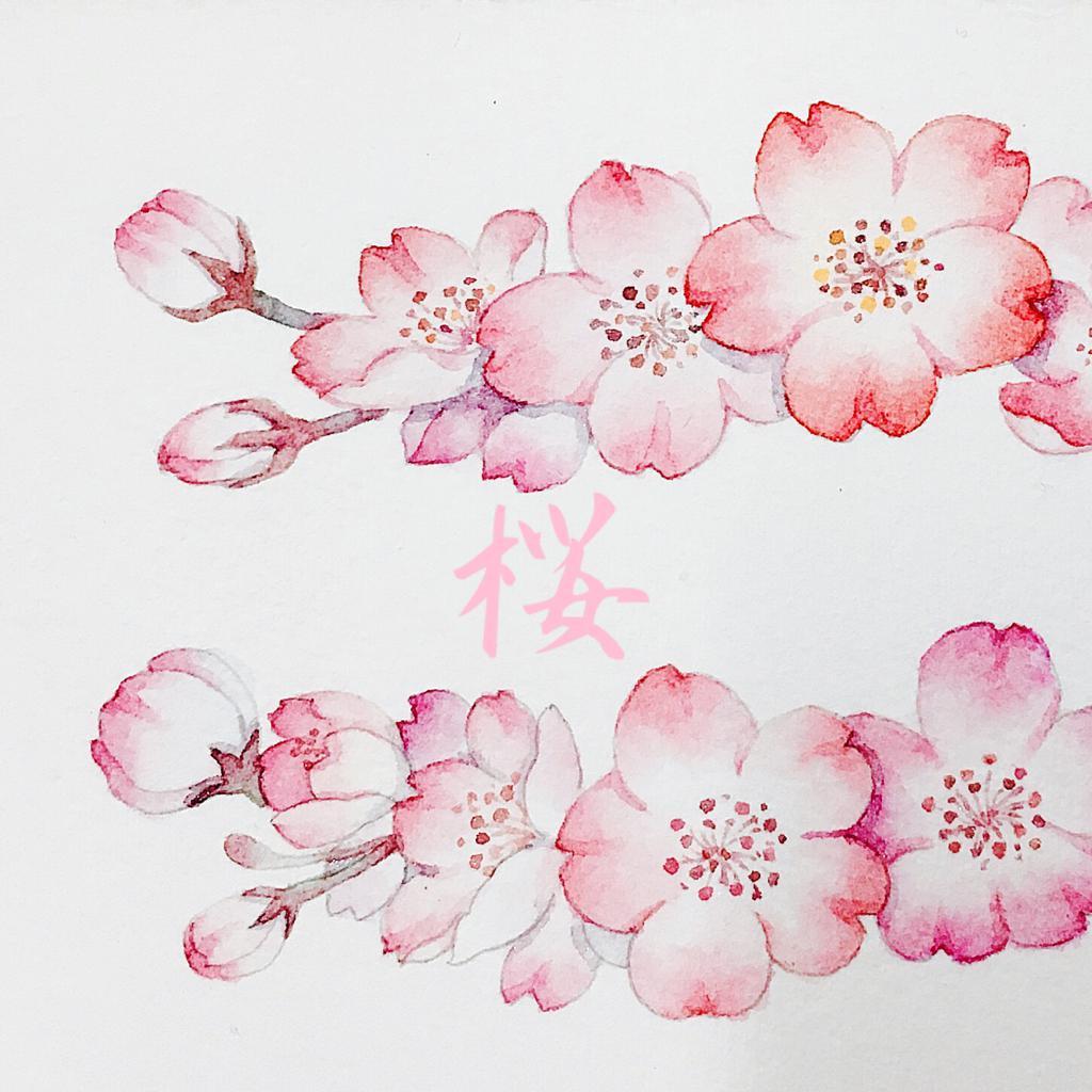 樱花矢量图立体