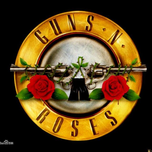 guns and roses壁纸